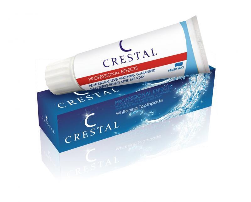 Купить отбеливающую Зубную пасту Crestal