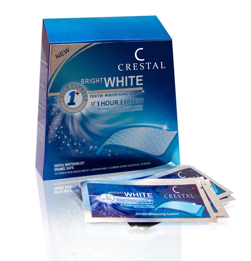 Купить отбеливающие полоски Bright White Crestal